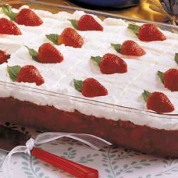 Frosted Strawberry Salad recipe