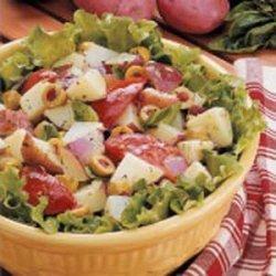 Easy Italian Potato Salad recipe