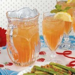 Minted Iced Tea Cooler recipe