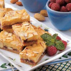 Raspberry White Chocolate Bars recipe