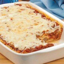 Meatball Lasagna recipe
