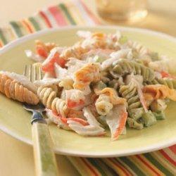 Pasta Crab Salad recipe