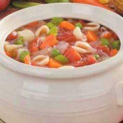 Homemade Italian Vegetable Soup recipe