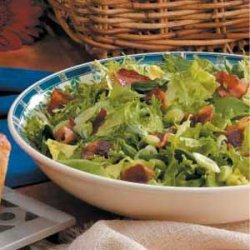 Wilted Green Salad recipe