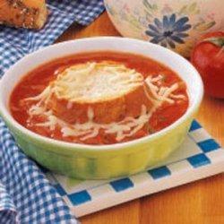 French Onion Tomato Soup recipe