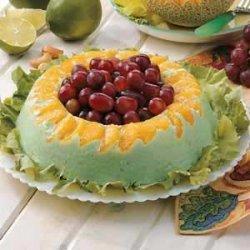 Orange Lime Gelatin Ring recipe