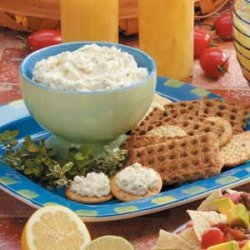 Herbed Garlic Cheese Spread recipe