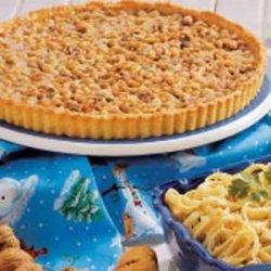 Walnut Toffee Tart recipe
