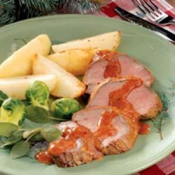 Beef Tenderloin with Potatoes recipe