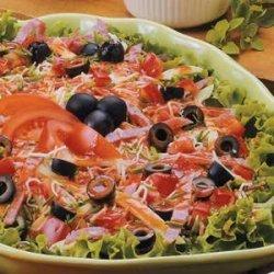 Pizza Antipasto Salad recipe