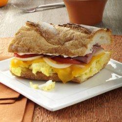 Ham 'n' Egg Sandwich recipe