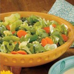Asparagus Tossed Salad recipe