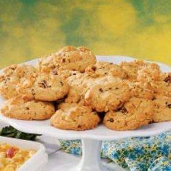 White Chocolate Chip Hazelnut Cookies recipe