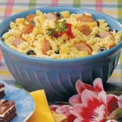 Kielbasa Pasta Salad recipe