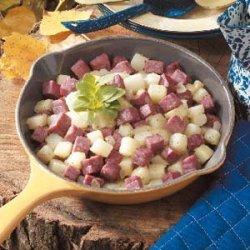 Corned Beef Casserole recipe