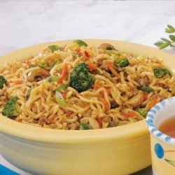 Asian Beef Noodle Toss recipe