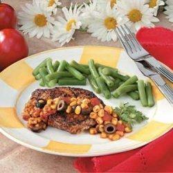 Chops with Corn Salsa recipe