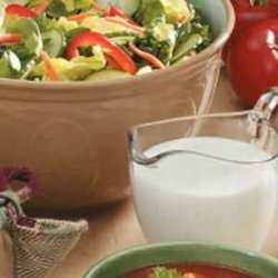 Cucumber Buttermilk Salad Dressing recipe