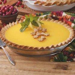 Homemade Lemon Cheese Pie recipe