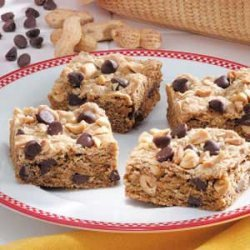 Chocolate Chip Graham Bars recipe