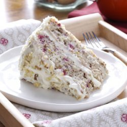 Cranberry Layer Cake recipe
