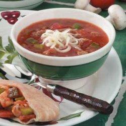Sausage Tomato Soup recipe