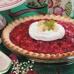 Christmas Cherry Pie recipe