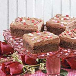 Favorite Frosted Brownies recipe