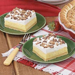 Toffee Ice Cream Dessert recipe