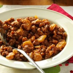 Hearty Beans with Beef recipe