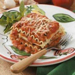 No-Bake Lasagna recipe