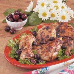 Chicken with Cherry Sauce recipe