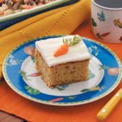 Walnut Carrot Cake recipe