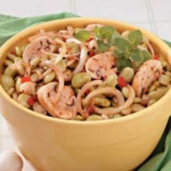 Marinated Lima Bean Salad recipe