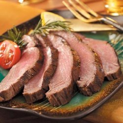 Herbed London Broil recipe