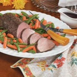 Beef Tenderloin with Balsamic Sauce recipe