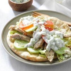 Turkey Gyros recipe