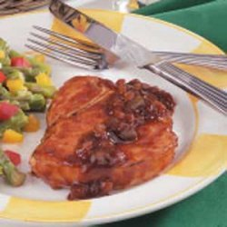 Easy Barbecued Pork Chops recipe