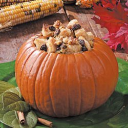 Bread Pudding Pumpkin recipe
