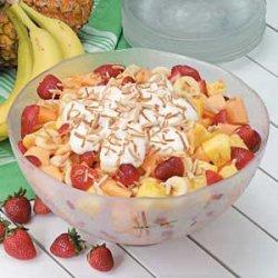 Tropical Fresh Fruit Salad recipe