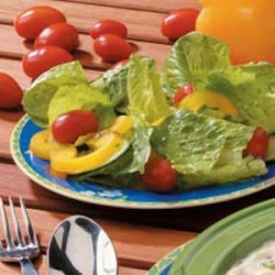 Garden Salad with Lemon Dressing recipe