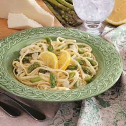 Asparagus Linguine recipe