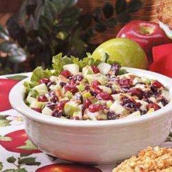 Cherry Waldorf Salad recipe
