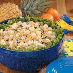 Fruited Turkey Salad recipe