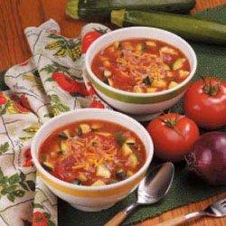 Zucchini Tomato Soup recipe