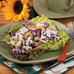 Wild Rice Turkey Salad recipe