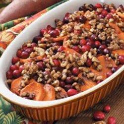 Sweet Potato Cranberry Bake recipe