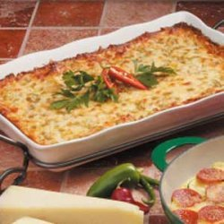 Tex-Mex Cheese Strata recipe