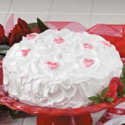 Sweetheart Red Cake recipe