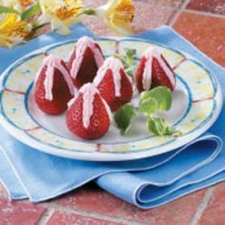 Special Stuffed Strawberries recipe
